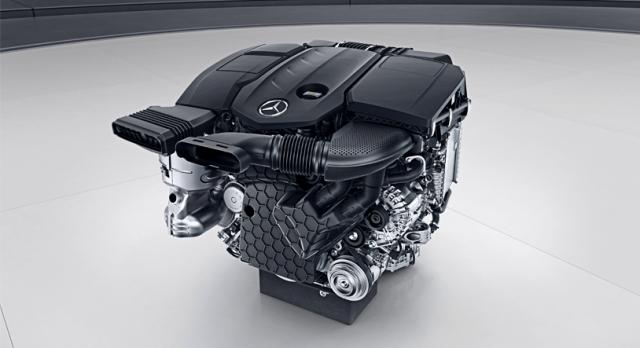 Mercedes Benz E-class w213- 4 cylindrowy silnik