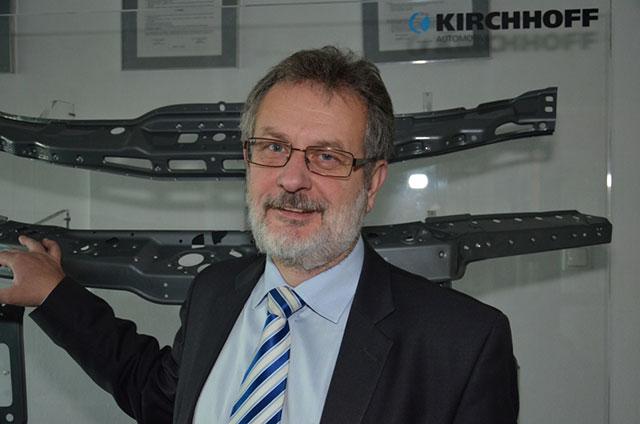 Janusz Soboń, prezes Kirchhoff Polska Fot. Tadeusz Poźniak