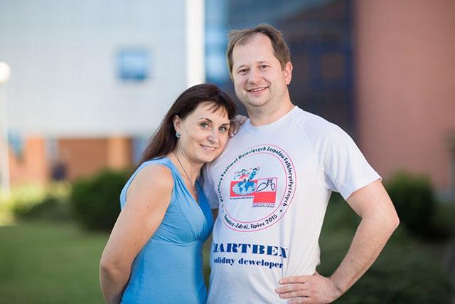 Antol Ciubarow i Olesia Szestierniowa Fot. Tadeusz Poźniak