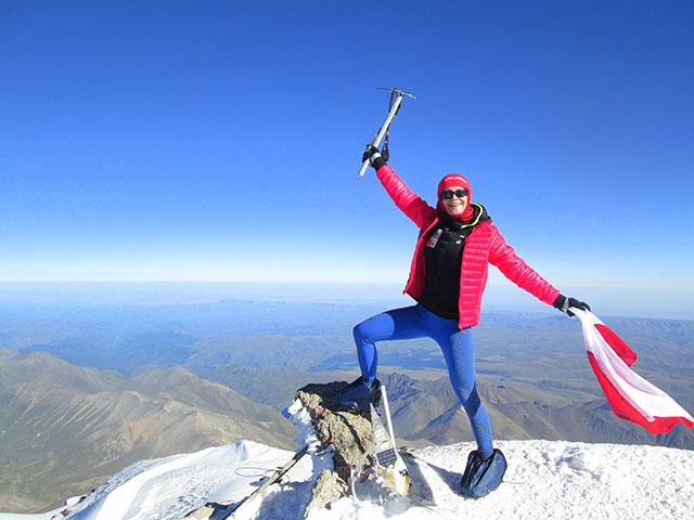 Zdobycie Elbrusa w 2016r